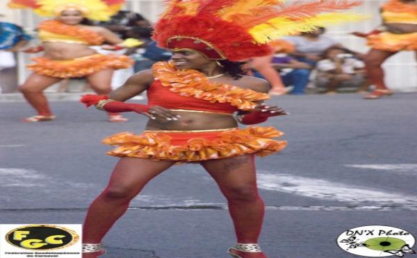 Le calendrier de février du carnaval en Guadeloupe 2012