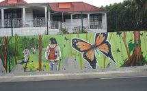 Guadeloupe, les peintures murales de Petit Bourg.