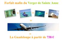 Promotion : la Guadeloupe à partir de 738 € tout inclus