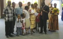 Trois mères médaillées en Guadeloupe à Bouillante