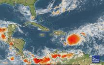 Tempête tropicale Emily passe la Guadeloupe et se dirige vers Haiti