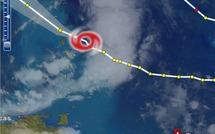 Tempête Maria droite sur la Guadeloupe