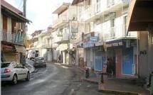 La ville de Basse Terre, capitale administrative de la Guadeloupe