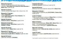 Où allez voir le carnaval de Guadeloupe aujourd'hui ! (agenda) Ce  qu'il fallait voir aux derniers déboulés (vidéos)
