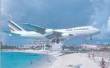 Air france un pas en arrière en Guadeloupe