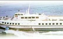 l'ARAWAK 1, vedette à passagers de Saint François, part en réparations pour le Vénézuela!