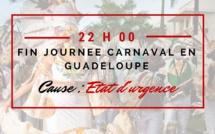 Etat d'urgence écourte les journées de carnaval en Guadeloupe