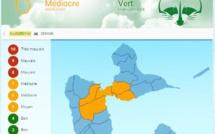 Indice air Guadeloupe : niveau médiocre