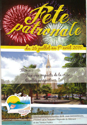 Fête de Sainte Anne en Guadeloupe