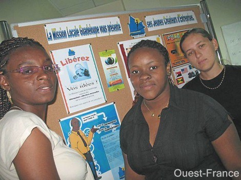 Mission Locale Guadeloupe, photo Ouest France