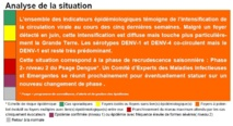 Analyse situation dengue Guadeloupe