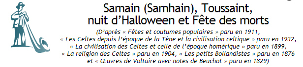 origines d' Halloween