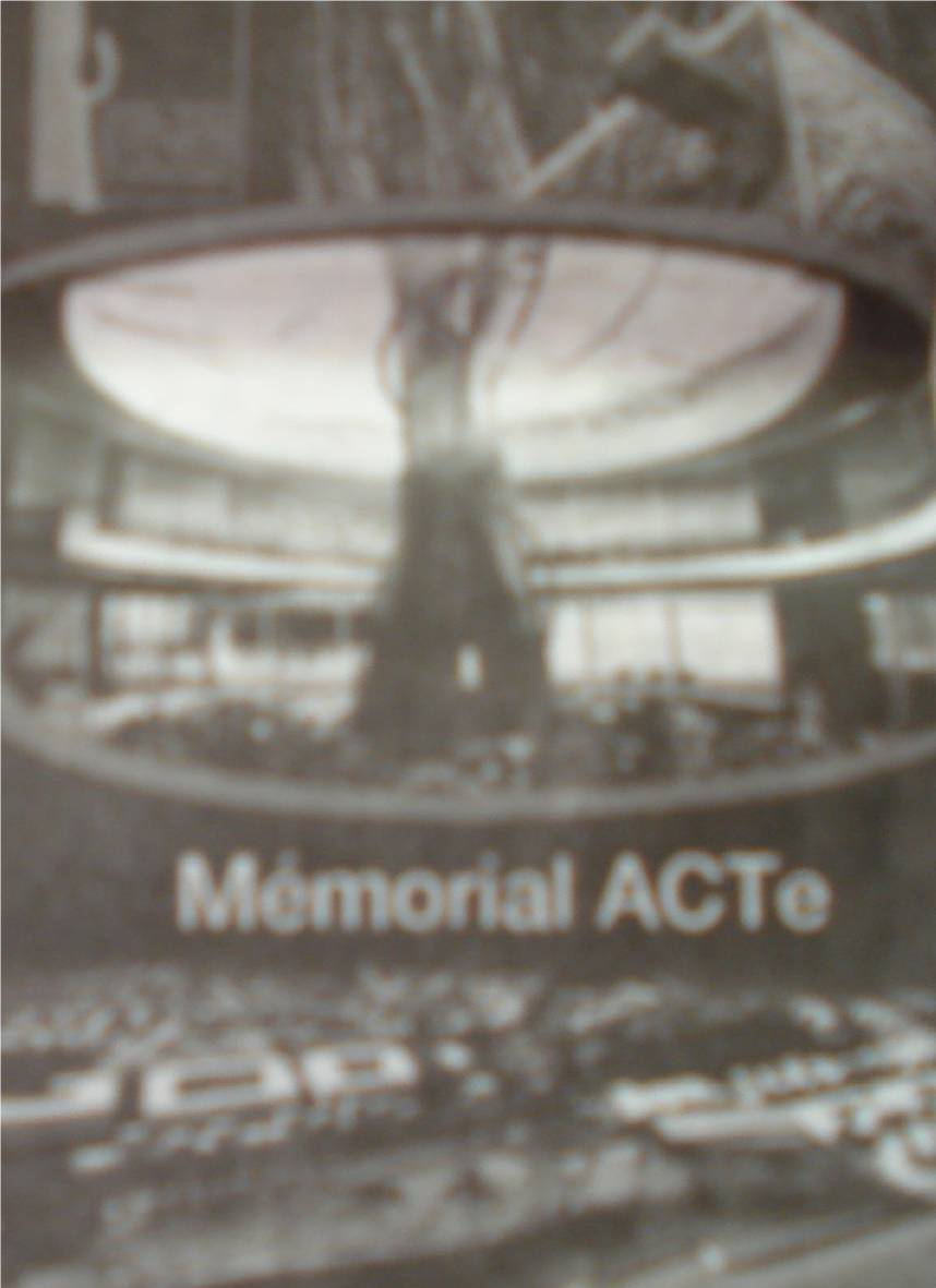 Maquette du MEMORIAL ACT. Photo France Antilles