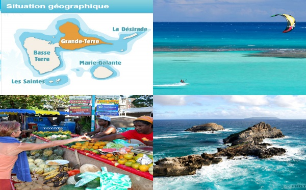 La Guadeloupe, un billet d'avion, 7 destinations